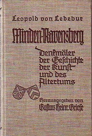 Minden-Ravensberg. Denkmäler der Geschichte, der Kunst und: Ledebur, Leopold von.
