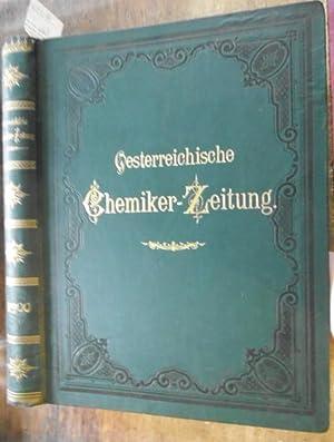 Oesterreichische Chemiker-Zeitung (vormals Zeitschrift für Nahrungsmittel-Untersuchung, Hygiene: Österreichische ChemikerZeitung. -