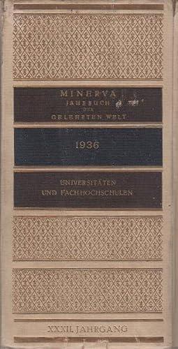 Minerva : Jahrbuch der gelehrten Welt. 32.: Lüdtke, Gerhard