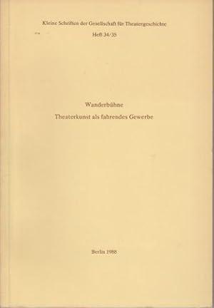Kleine Schriften der Gesellschaft für Theatergeschichte. Konvolut: Theatergeschichte. -