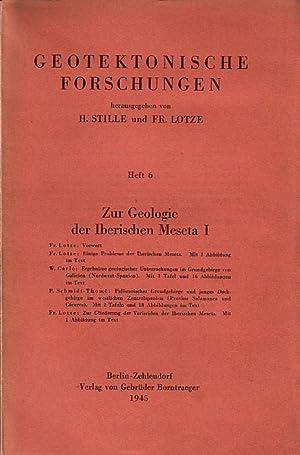 Zur Geologie der Iberischen Meseta 1: Fr.: Geotektonische Forschungen. -
