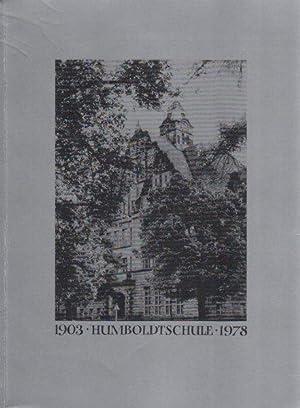 Humboldtschule Tegel 1903-1978.: Hempel, Harry: