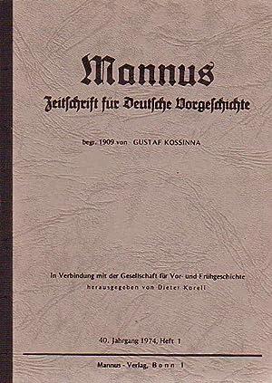 Mannus. Zeitschrift für Deutsche Vorgeschichte. In Verbindung: Mannus. - Leyden,