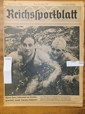 Reichssportblatt. 9. Jahr, Nr. 5 vom 3.: Reichssportblatt. - Reetz,
