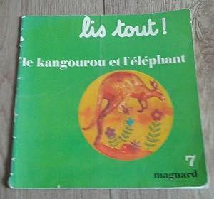 Lis tout! Le kangourou et l'éléphant: Juredieu J., Bonnet