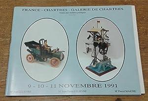 Catalogue de vente, Chartres, 9-10-11 novembre 1991: Anonyme