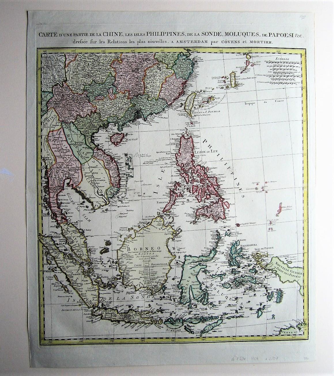 Carte D Une Partie De La Chine L Isle