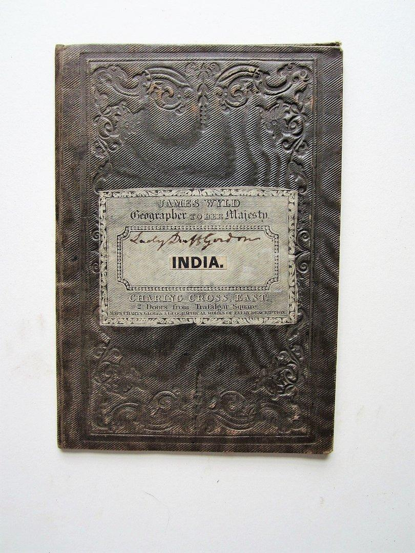 Map of India to Illustrate the Progress: Wyld, James (1812-1887)