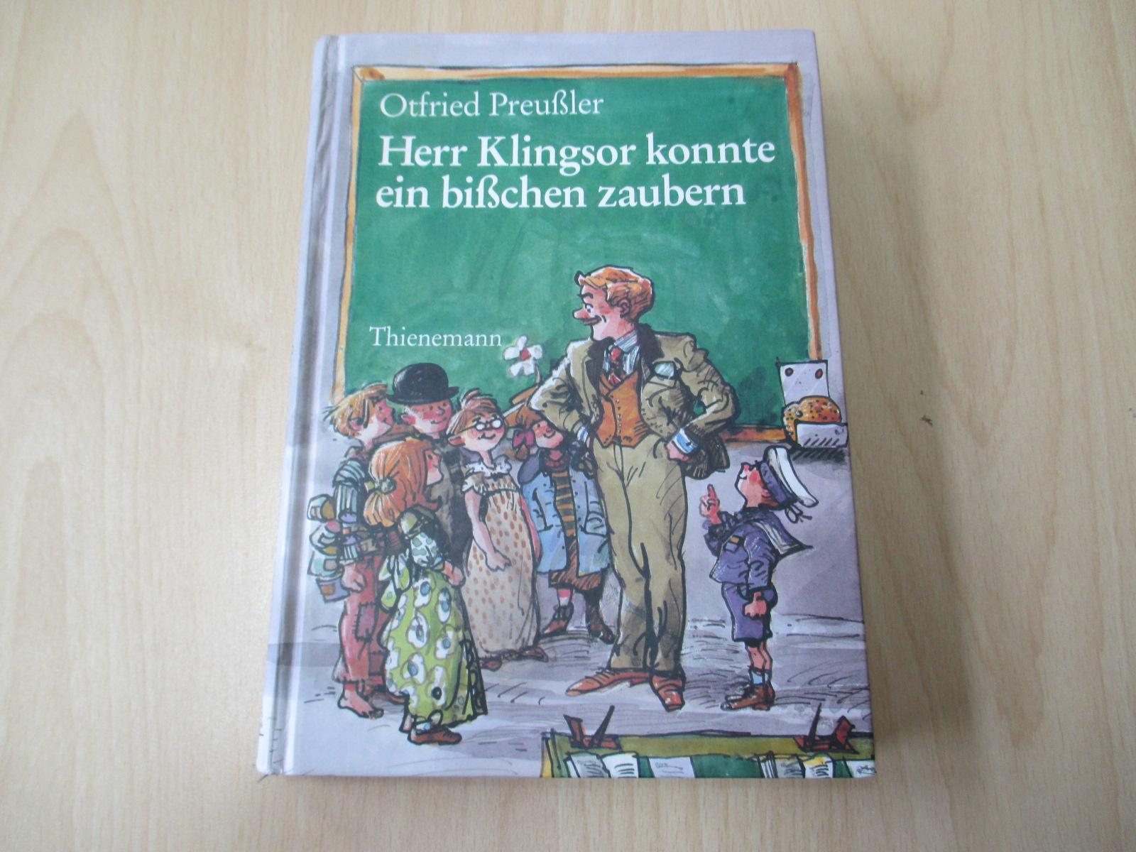 Herr Klingsor konnte ein bißchen zaubern Mit: Preußler, Otfried