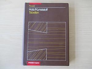 Holz/Kunststoff - Tabellen Für Holz- und Kunststoffverarbeiter: Thunack