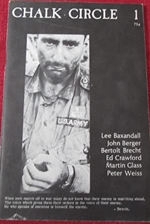 Chalk Circle. Volume 1, Number 1. April-May 1966: Berger, John; Brecht, Bertolt; Voznesensky, ...