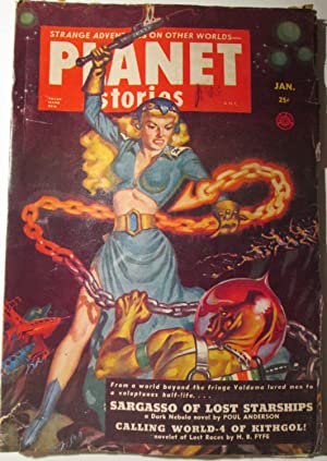 Planet Stories. January, 1952. Vol. 5 No. 4.: Anderson, Poul; Jakes, John; Fyfe, H.B. et al.