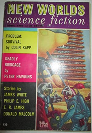 New Worlds Science Fiction. April 1960. Vol. 1. No. 2.: High, Philip E.; Hawkins, Peter; James, E.R...