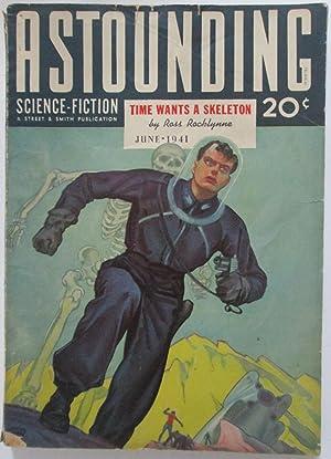 Astounding Science Fiction. June 1941. Vol. XXVII. No. 4: Rocklynne, Ross; Bates, Harry; Sturgeon, ...