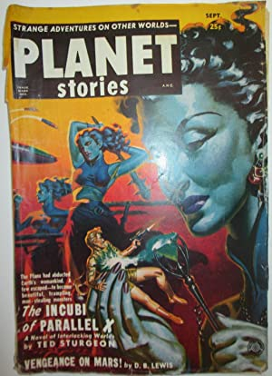 Planet Stories. September, 1951. Vol. 5, No.: Sturgeon, Theodore; Coppel,