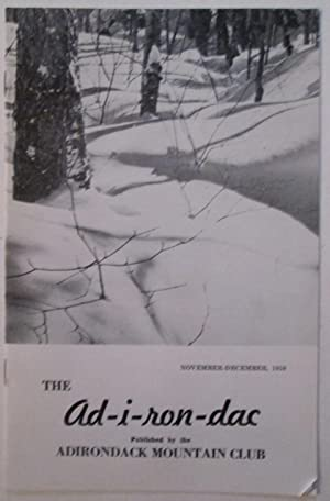 The Ad-i-ron-dac. (Adirondac). November-December, 1959: Various Authors