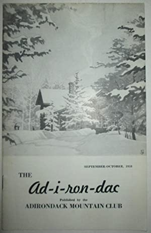 The Ad-i-ron-dac. (Adirondac). September-October 1959: Various Authors