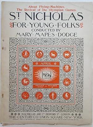 St. Nicholas For Young Folks. April 1896: Various Authors