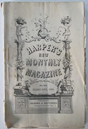 Harper's New Monthly Magazine. February, 1868: Various Authors