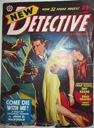 New Detective Magazine. January, 1948: MacDonald, John D.; Cummings, Ray; Collins, Shad et al.