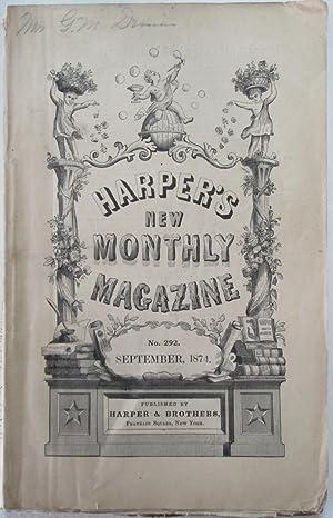 Harper's New Monthly Magazine. September, 1874: Various Authors