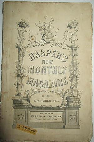 Harper's New Monthly Magazine. December, 1869. Vol. XL. No. CCXXXV: Marcy, Randolph B. et al.