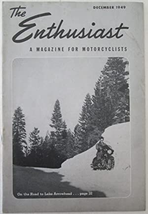 The Enthusiast. A Magazine for Motorcyclists. December, 1949: Various Authors