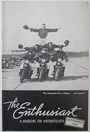 The Enthusiast. A Magazine for Motorcyclists. September, 1949: Various Authors