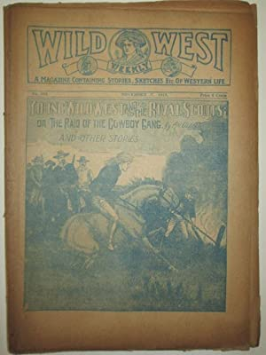 Wild West Weekly. No. 890. November 7, 1919. Young Wild West and the Rival Scouts; or the Raid of ...