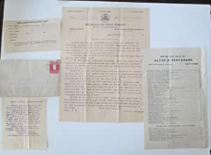 Small collection of occult ephemera, relating to the Astrology and Occult practice of Altan Z. ...