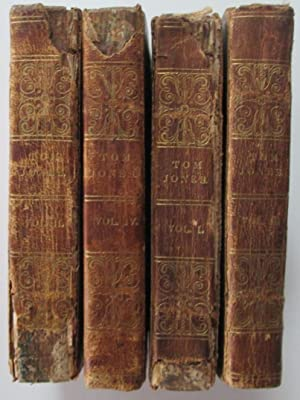 The History of Tom Jones, A Foundling. In Four Volumes: Fielding, Henry