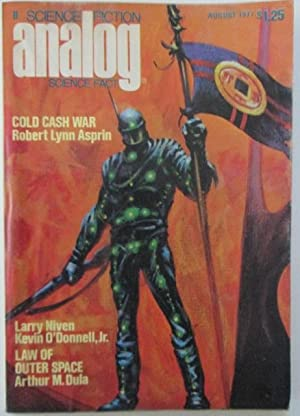 Analog Science Fiction Science Fact. Featuring Ender's Game. August 1977.: Card, Orson Scott; ...