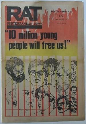 RAT Subterranean News. Feb. 24-March 9, 1970: Various Authors