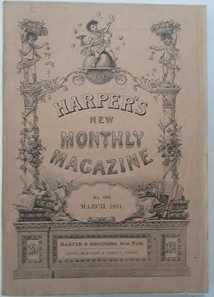 Harper's New Monthly Magazine. March, 1894: Remington, Frederic; du Maurier, George et al.