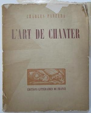 L'Art de Chanter: Panzera, Charles