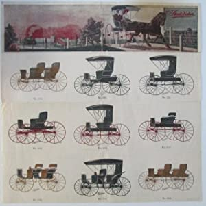 Advertisement/broadside for Studebaker Buggies (horse drawn carriages).: No Author