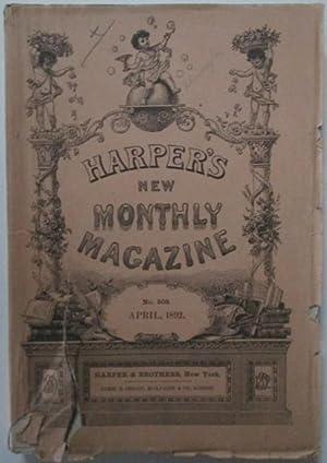Harper's New Monthly Magazine. April, 1892: Whitman, Walt et al.