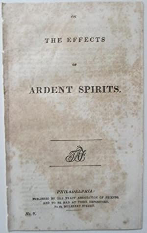 On the Effects of Ardent Spirits: No author Given