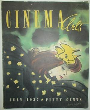 Cinema Arts. July 1937. Vol. 1 No. 2.: Various Authors