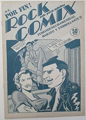 Rock Comix #1.: Fraga, Gaspar, editor.