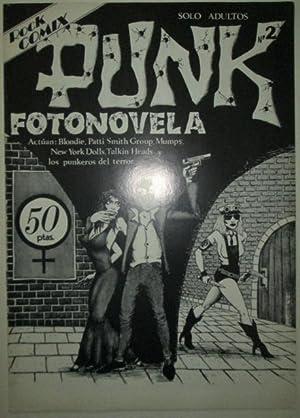 Rock Comix #2. Punk Fotonovela: Fraga, Gaspar, Editor