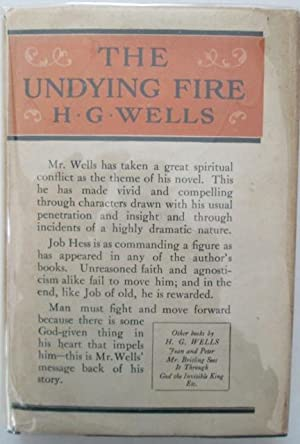 The Undying Fire: Wells, H.G.