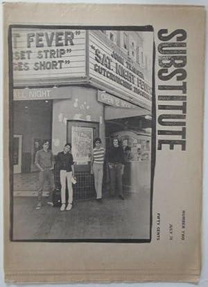 Substitute. Number Two. July 1978: Griswold, Tom and Ramirez, Jacki (editors); Gardner, Jolie; ...