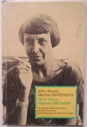 After Russia: Tsvetaeva, Marina