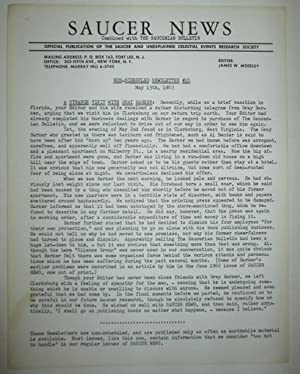 Saucer News. Non-Scheduled Newsletter #16. May 15th, 1963: Moseley, James W. (editor).