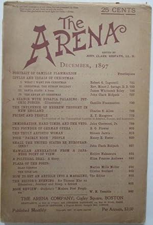 The Arena. December, 1897: Flammarion, Camille; Hargrove, E.T.; Riley, James Whitcomb, et al.