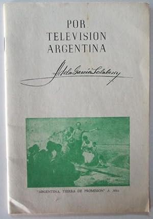 Por Television Argentina. Segundo Cuaderno: Salaberry, Adela Garcia