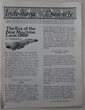 Indochina Chronicle. No. 6 and 7. Oct. 15, 1971: Various Authors