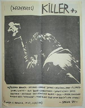 Killer #7. Spring '85: Moore, Thurston (editor)