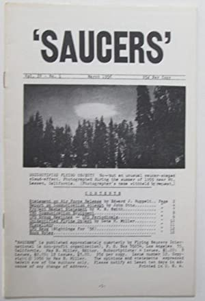 Saucers. Vol. IV No. 1. March 1956: Miller, Max B. (editor). Various Authors